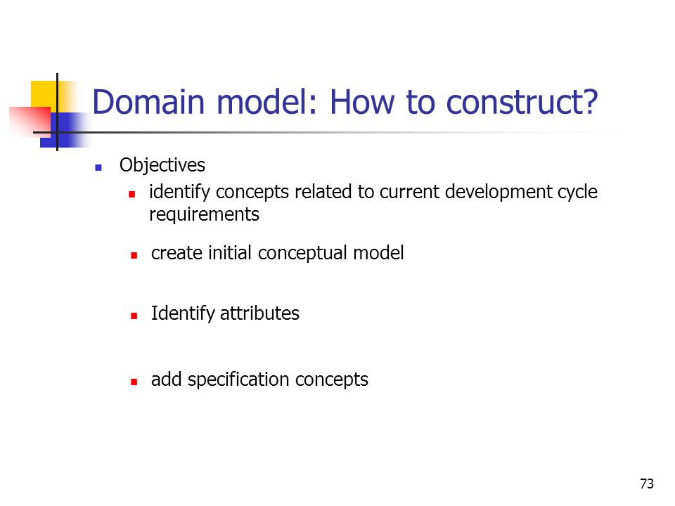 Domain model: What is it