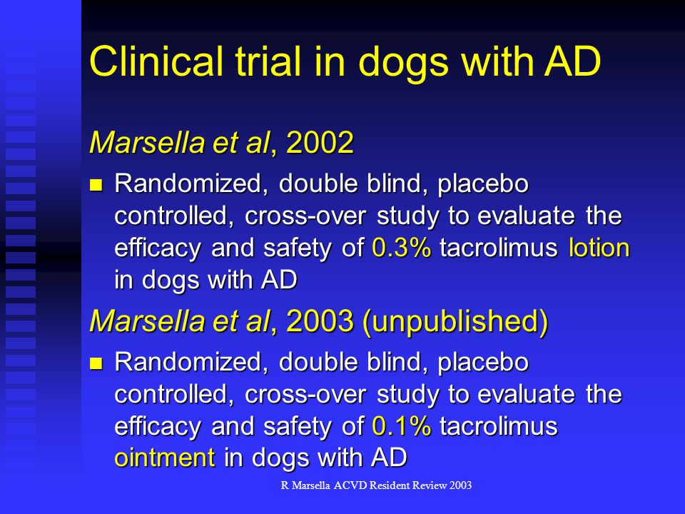 R Marsella ACVD Resident Review 2003