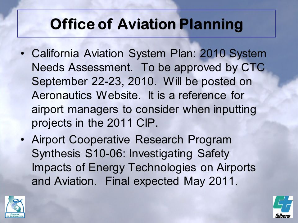 Office of Aviation Planning
