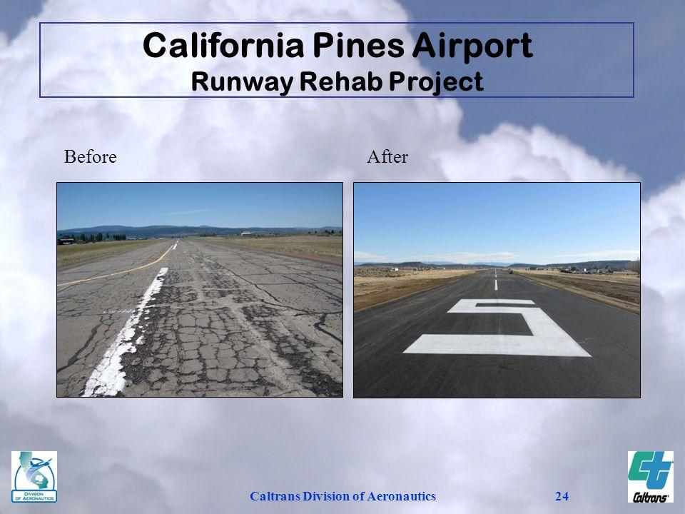 California Pines Airport Caltrans Division of Aeronautics
