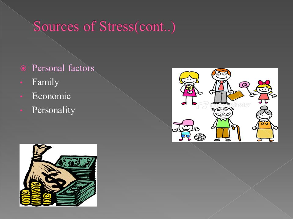 Sources of Stress(cont..)