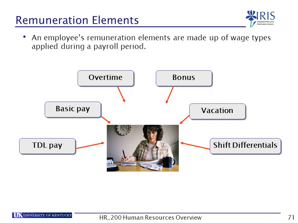 Remuneration Elements