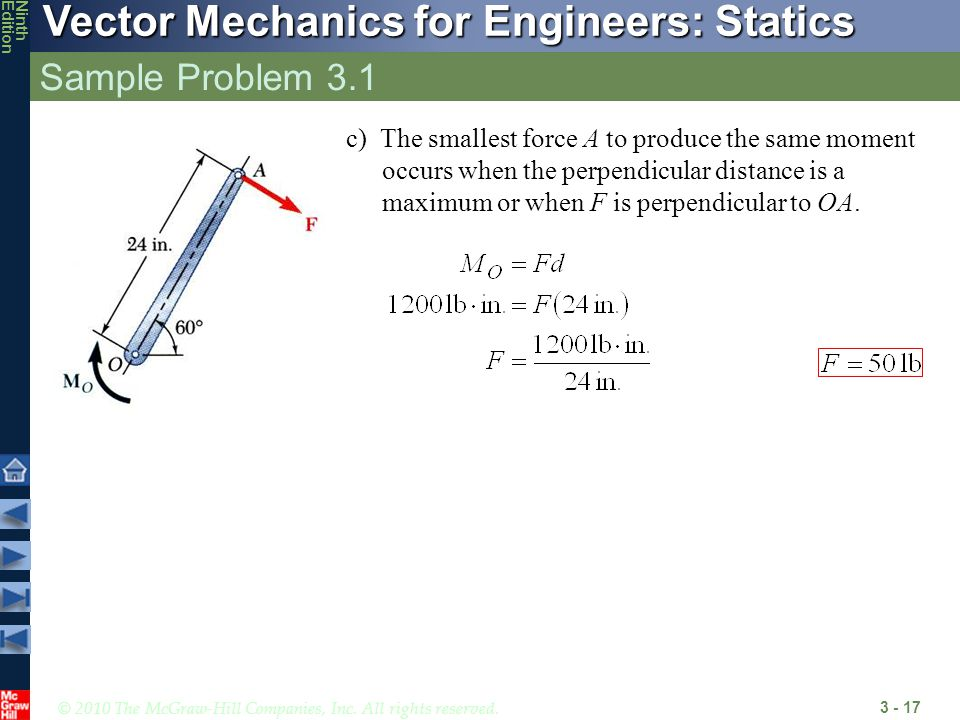 Sample Problem 3.1