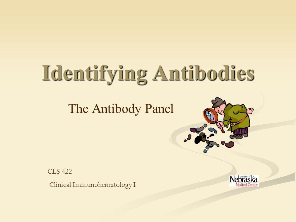 Identifying Antibodies