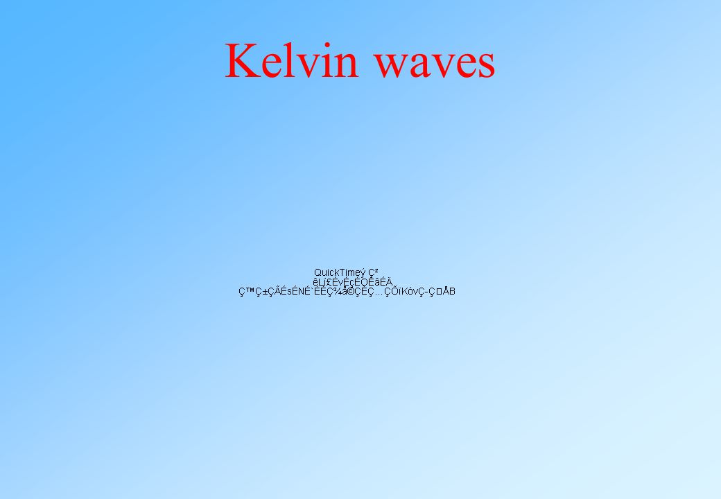 Kelvin waves They are Kelvin waves, helical waves excited along each vortex.