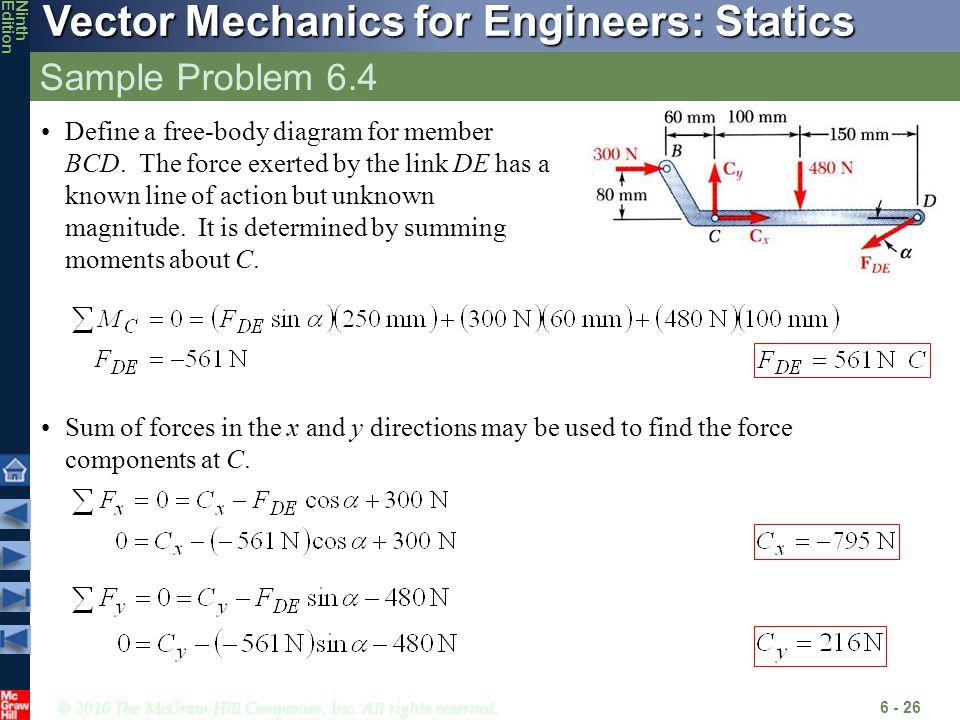 Sample Problem 6.4