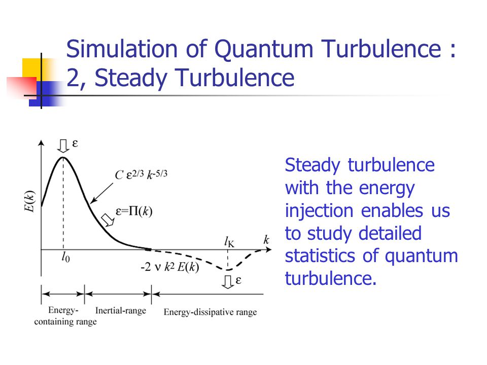 Simulation of Quantum Turbulence : 2, Steady Turbulence