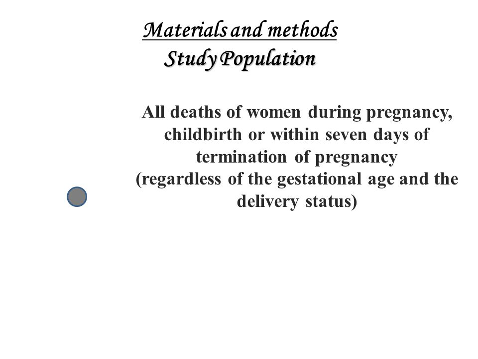 Materials and methods Study Population