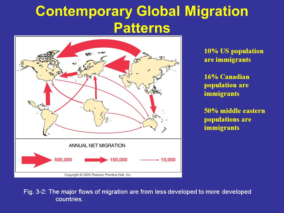 Contemporary Global Migration Patterns