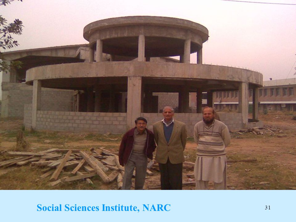 Social Sciences Institute, NARC