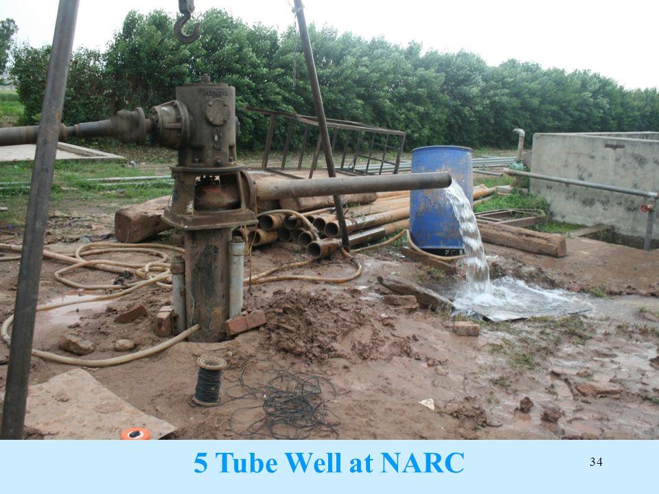 5 Tube Well at NARC