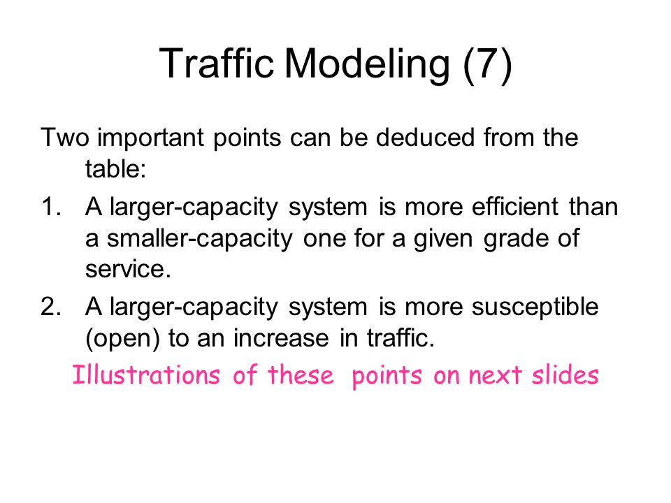 Illustrations of these points on next slides