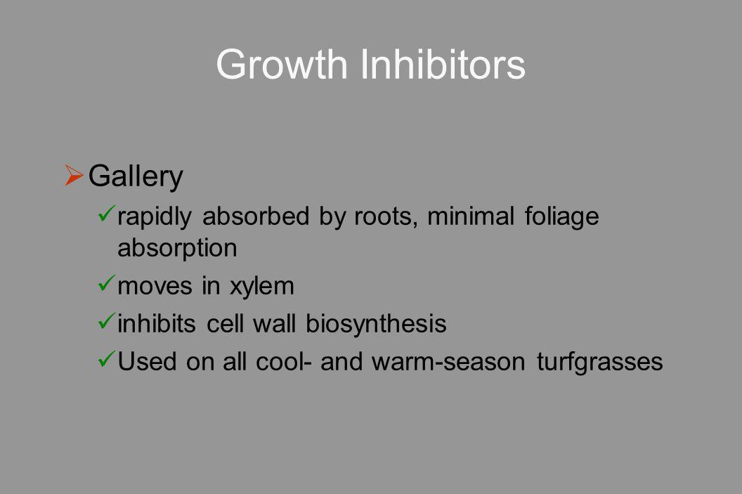 Growth Inhibitors Gallery