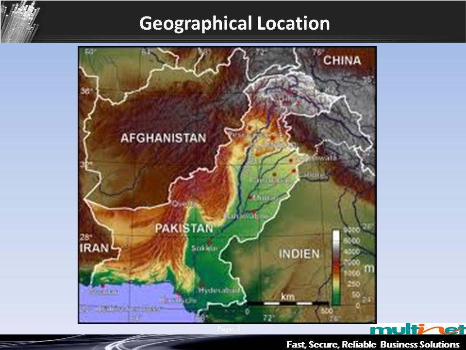 Geographical Location Fast, Secure, Reliable Business Solutions