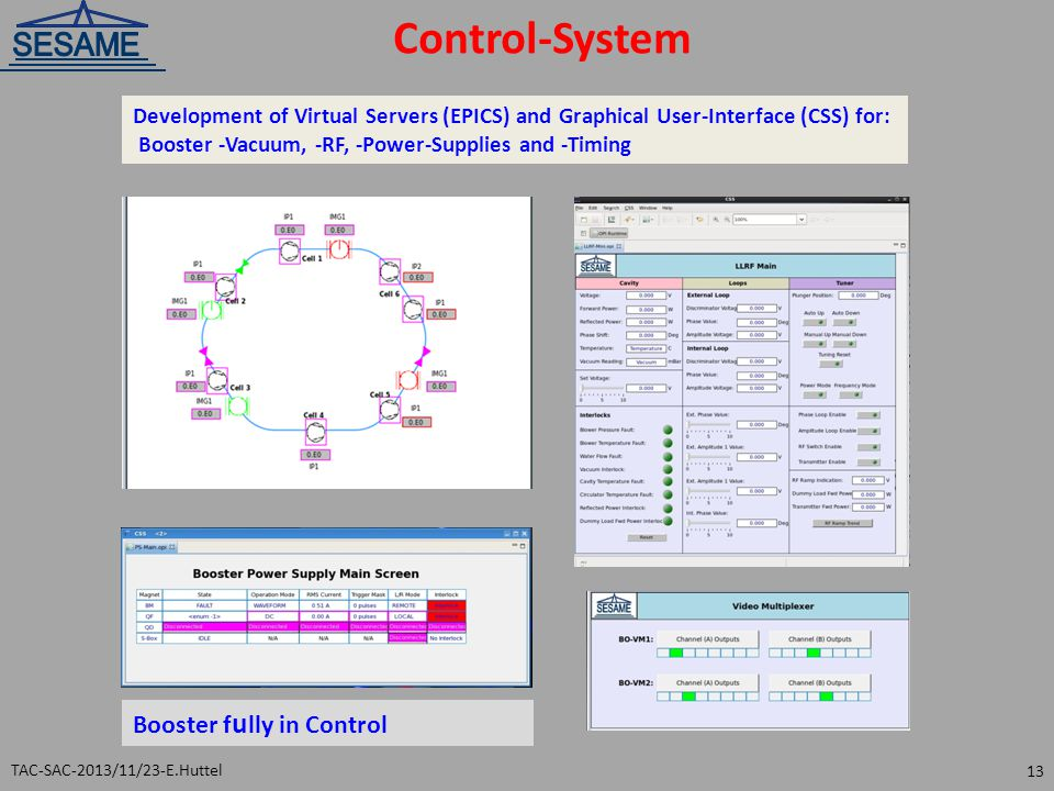 Control-System Booster fully in Control