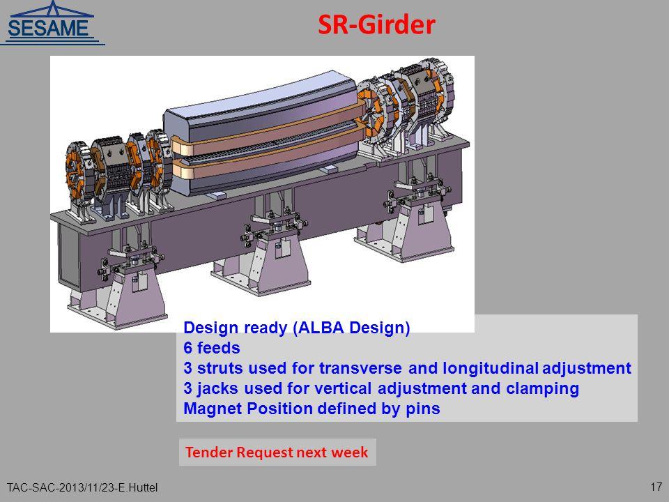 SR-Girder Design ready (ALBA Design) 6 feeds