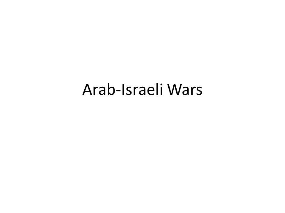 Arab-Israeli Wars