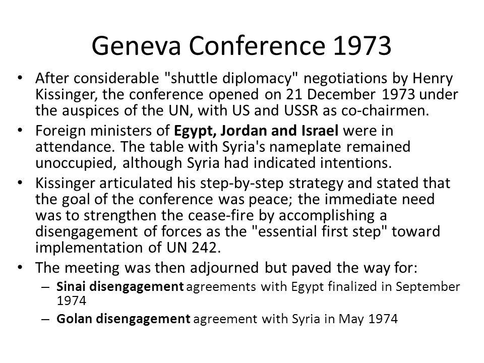 Geneva Conference 1973