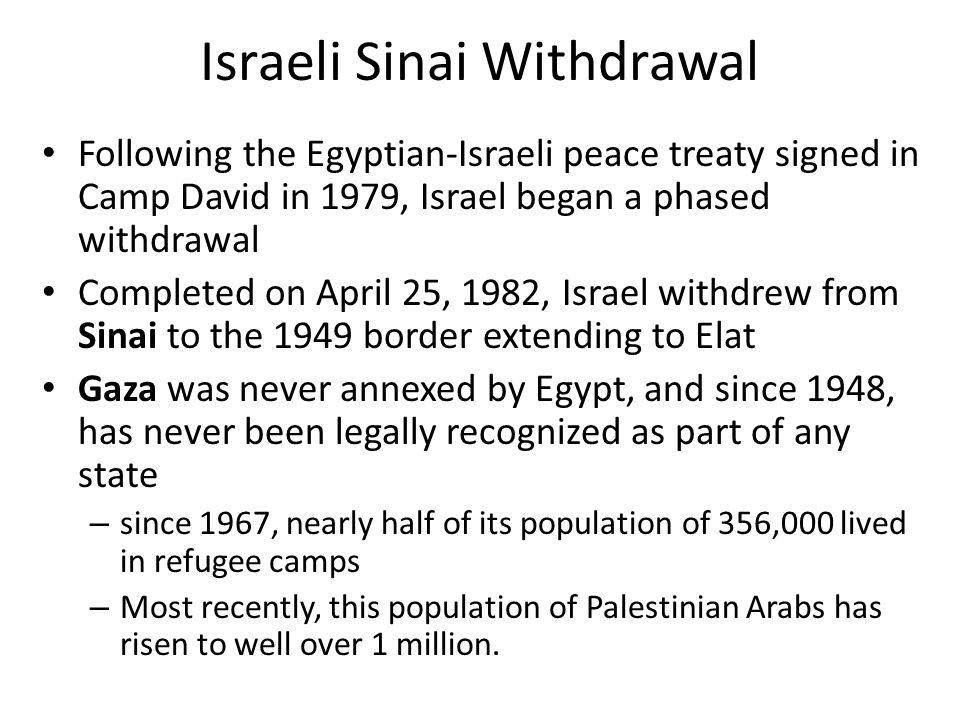Israeli Sinai Withdrawal