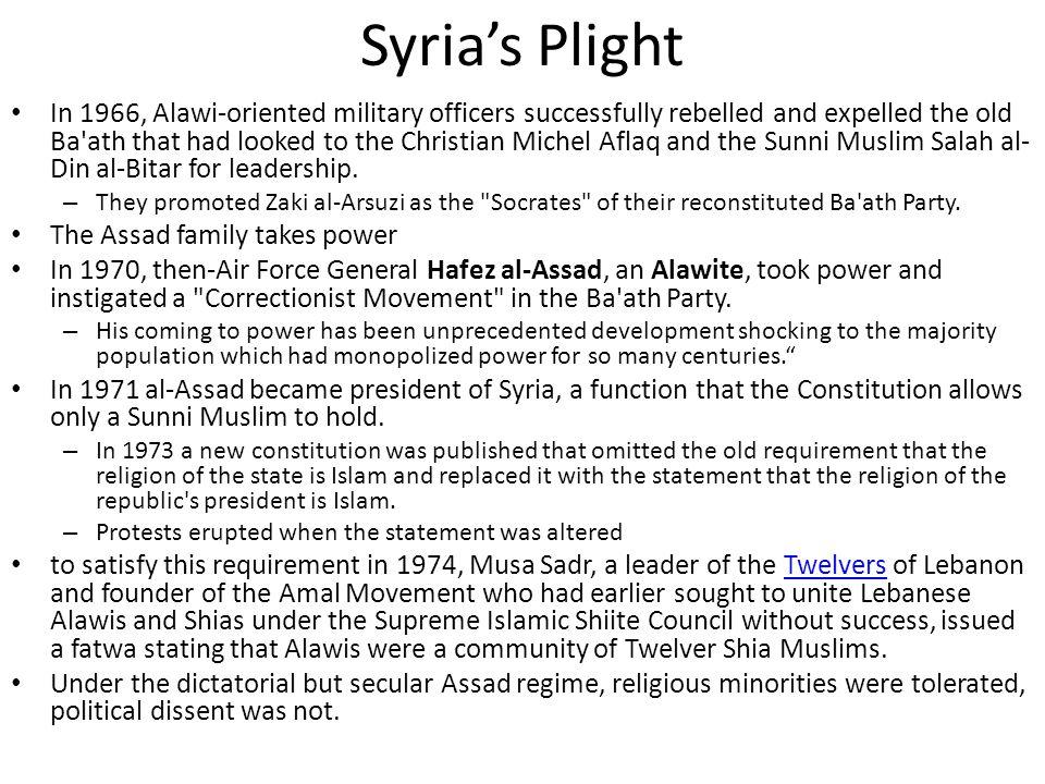 Syria's Plight