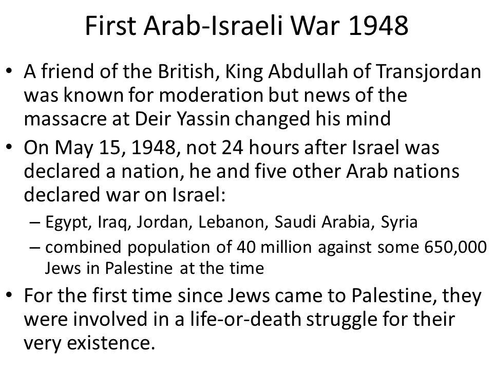 First Arab-Israeli War 1948