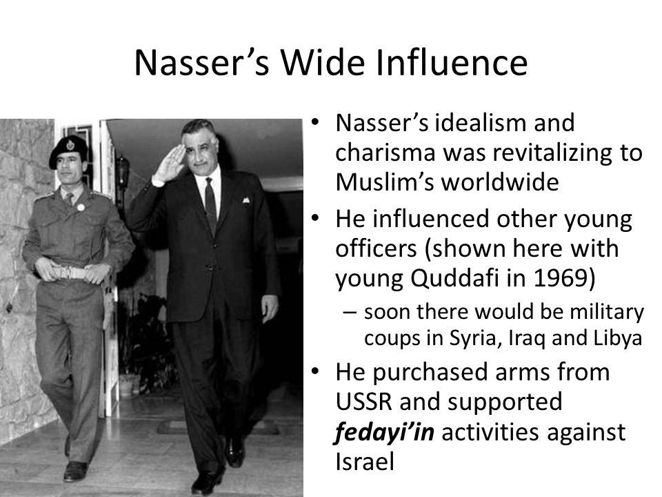 Nasser's Wide Influence
