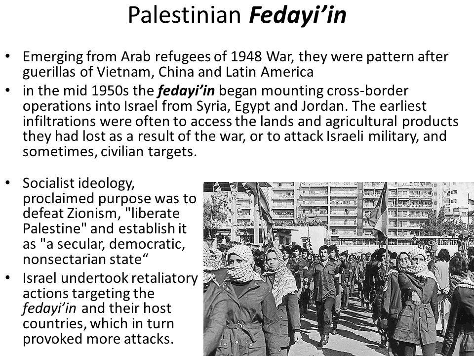 Palestinian Fedayi'in