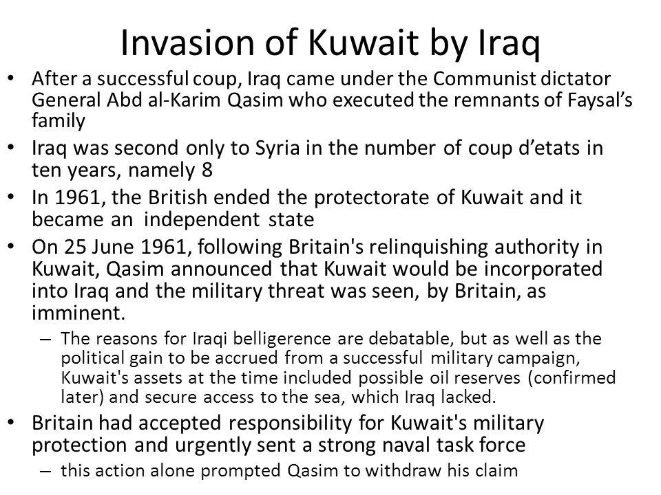 Invasion of Kuwait by Iraq