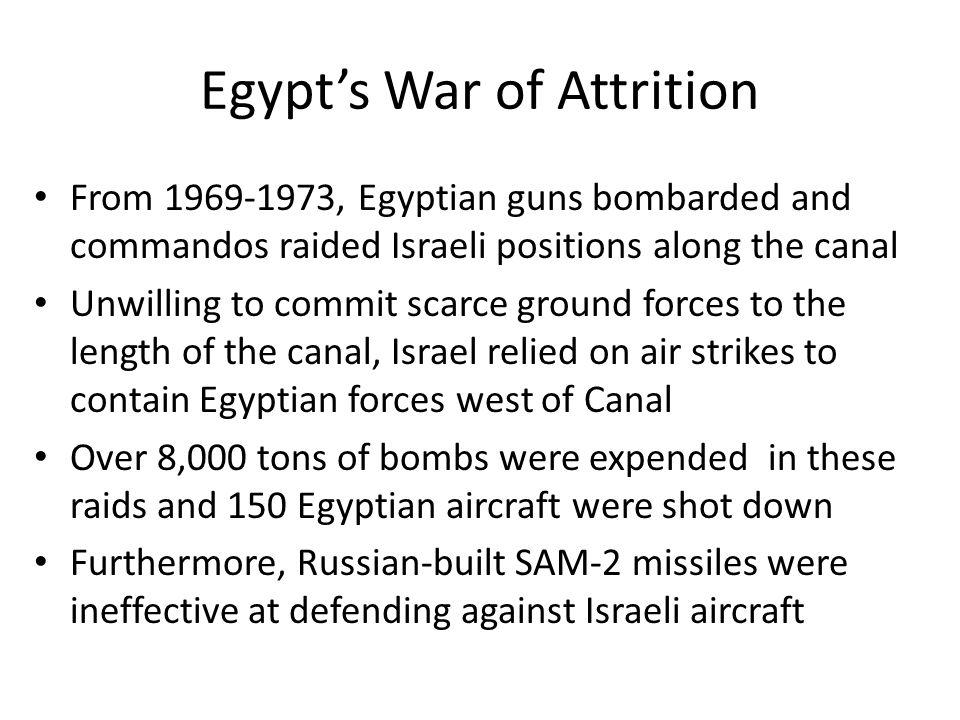 Egypt's War of Attrition