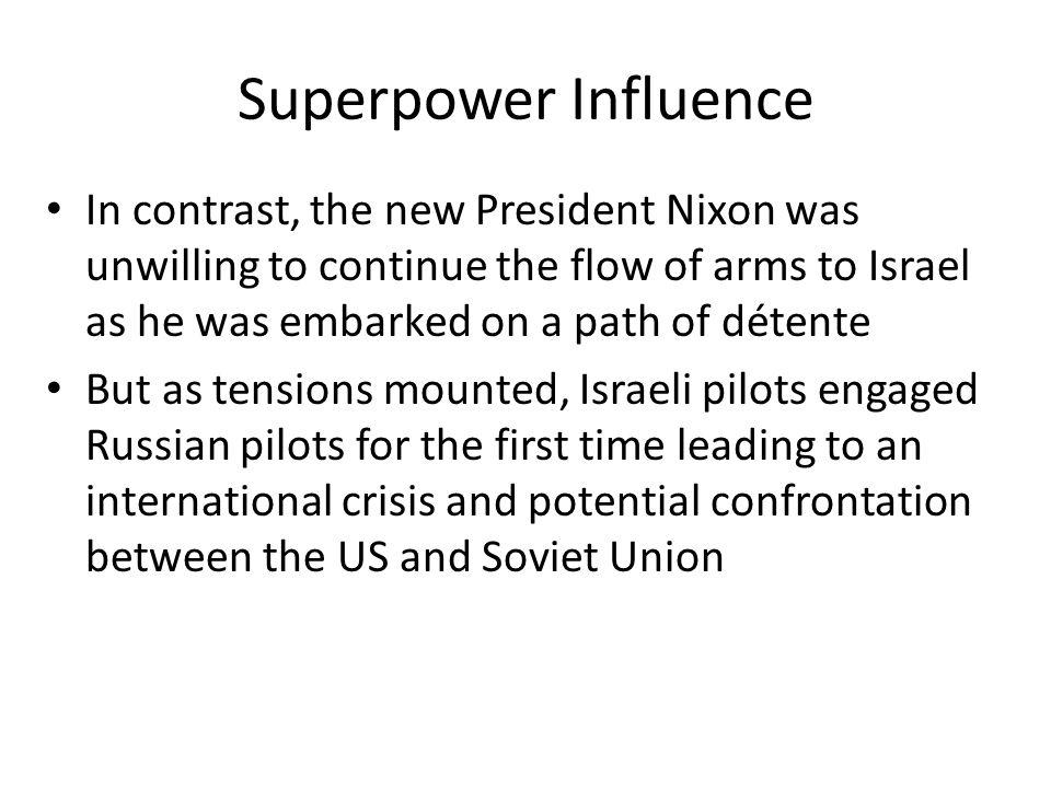 Superpower Influence