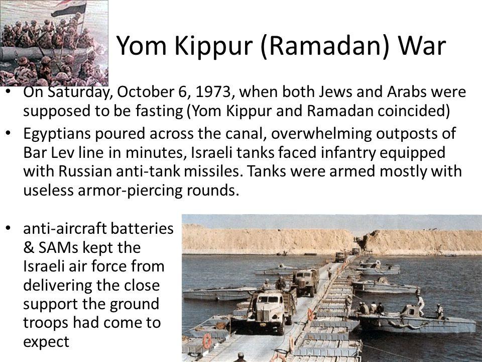 Yom Kippur (Ramadan) War