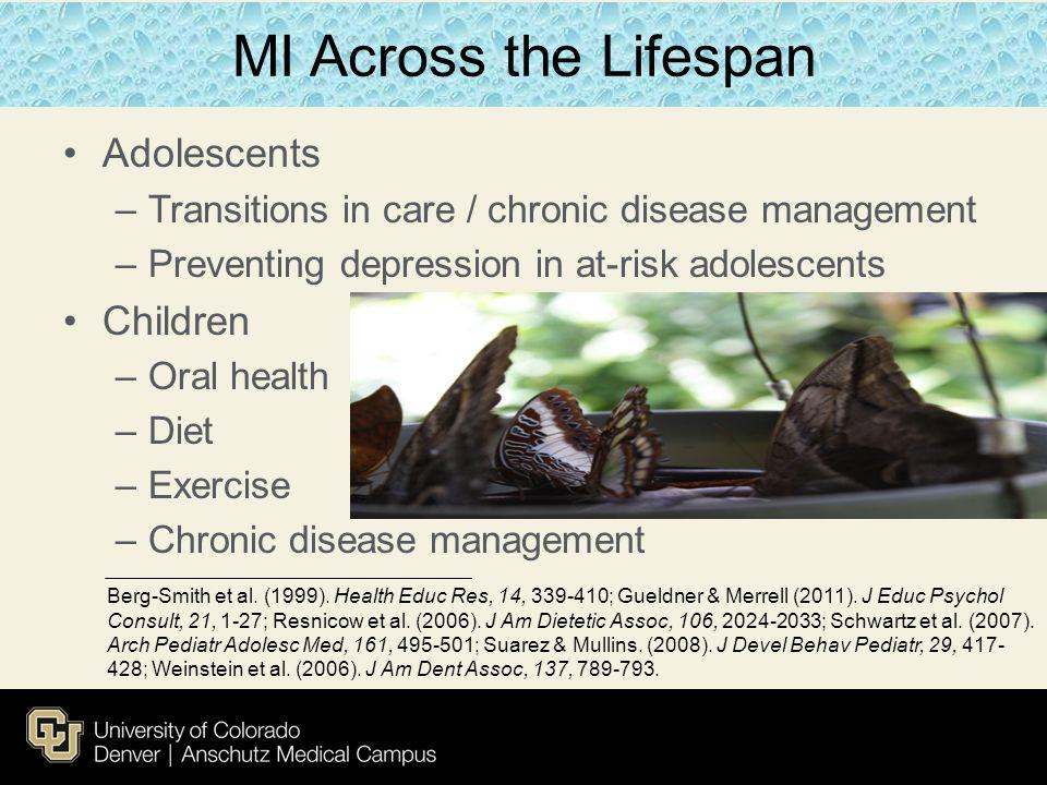 MI Across the Lifespan Adolescents Children