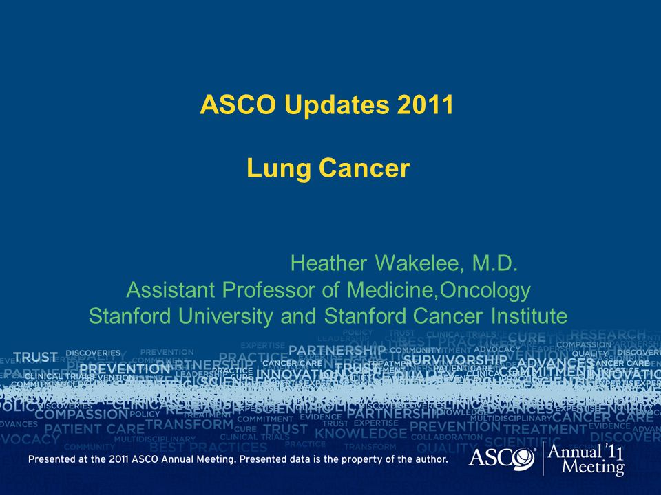 ASCO Updates 2011 Lung Cancer