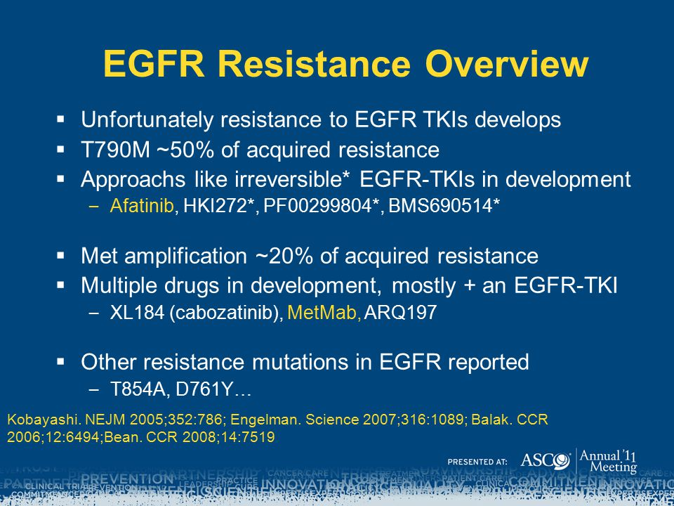 EGFR Resistance Overview