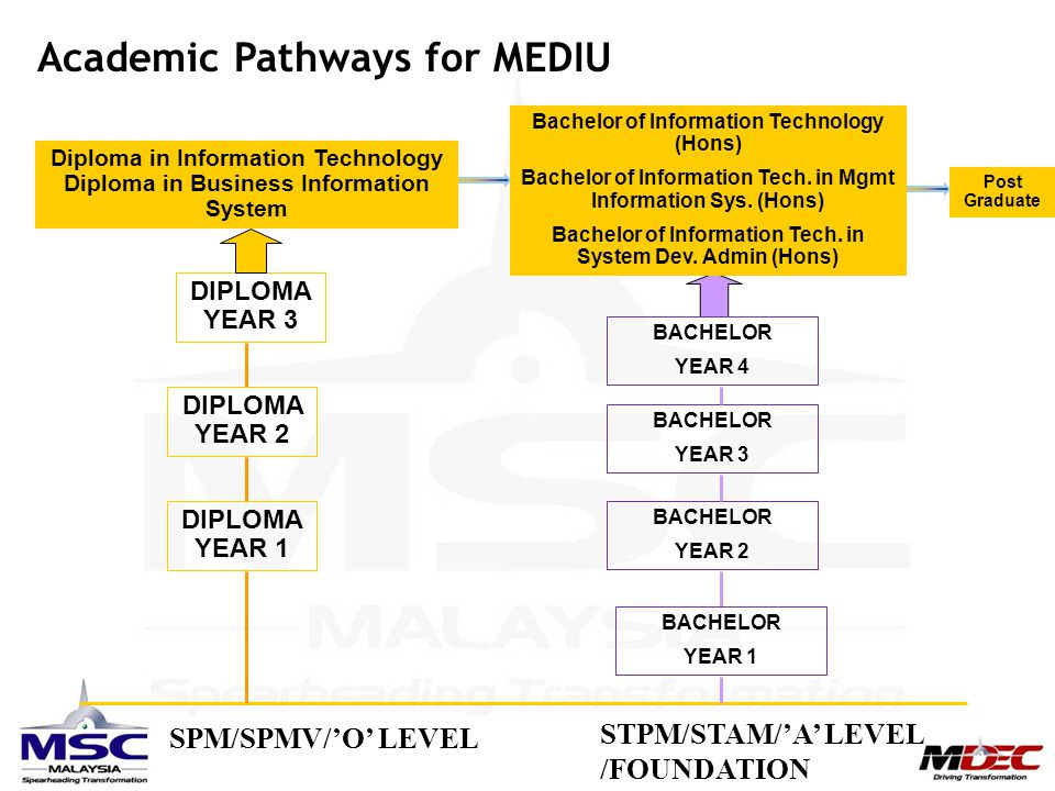 Academic Pathways for MEDIU
