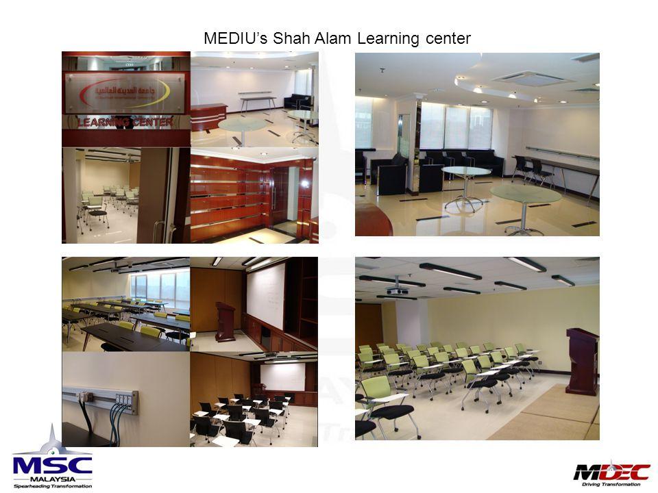 MEDIU's Shah Alam Learning center