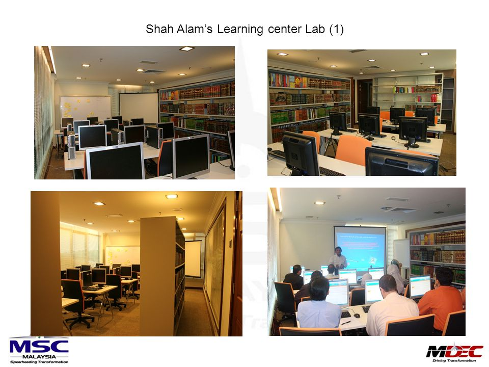 Shah Alam's Learning center Lab (1)