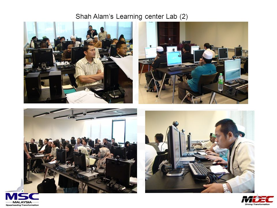 Shah Alam's Learning center Lab (2)