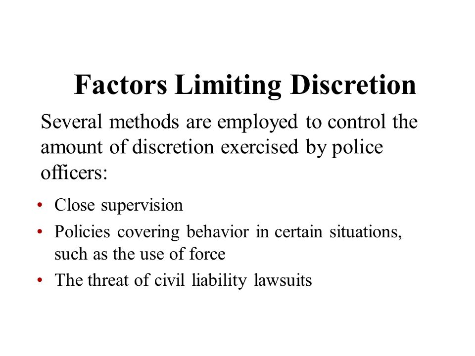 an overview of civil liabilities in policing Denver police department  civil liability section records request   this report contains a typed synopsis of a call for police service in the city and.