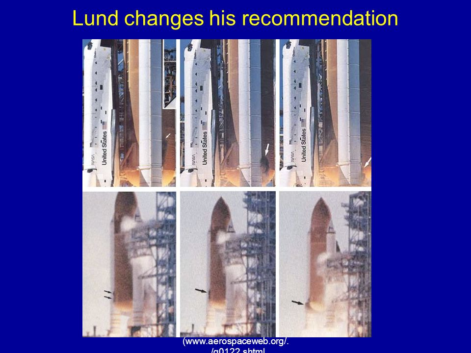 Lund changes his recommendation