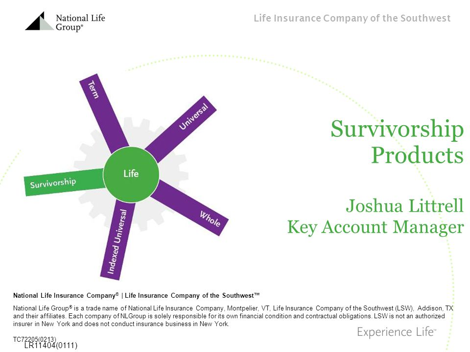 Survivorship Products Joshua Littrell Key Account Manager