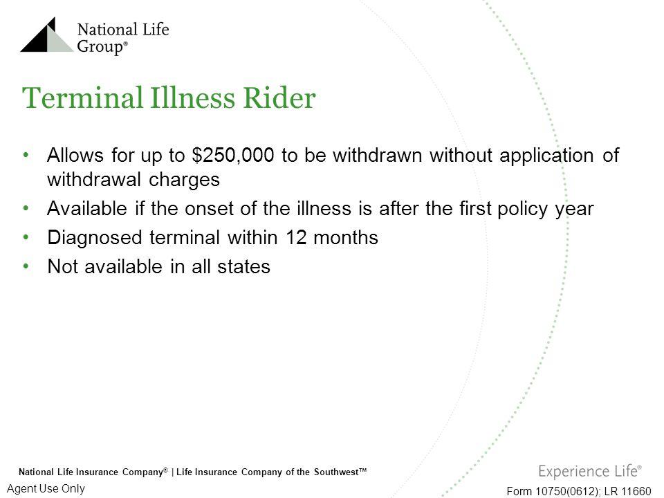 Terminal Illness Rider