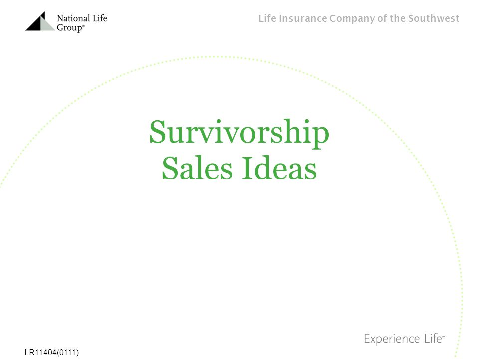 Survivorship Sales Ideas