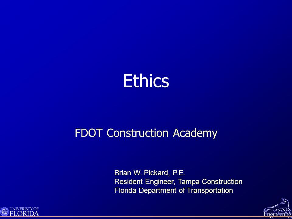 FDOT Construction Academy