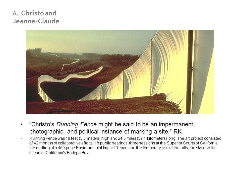A. Christo and Jeanne-Claude