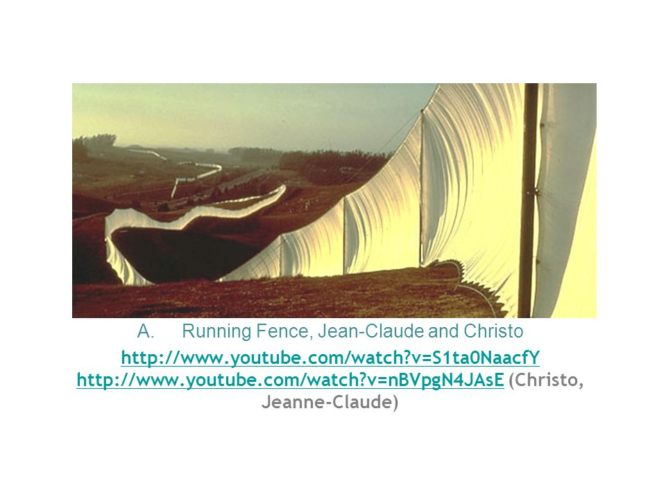 Running Fence, Jean-Claude and Christo