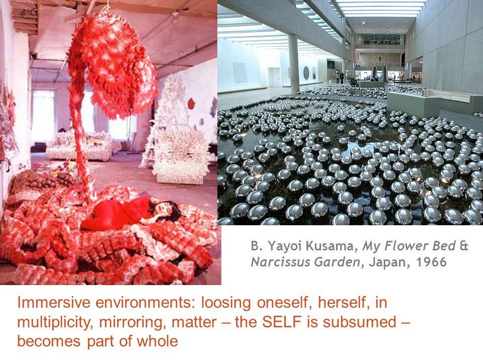 B. Yayoi Kusama, My Flower Bed & Narcissus Garden, Japan, 1966