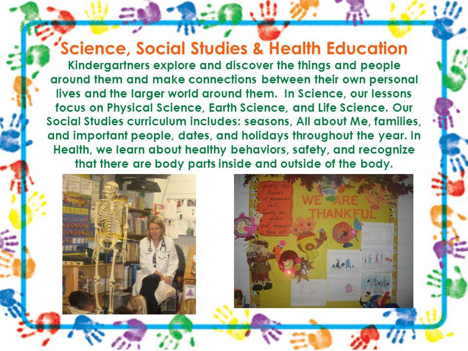 Science, Social Studies & Health Education