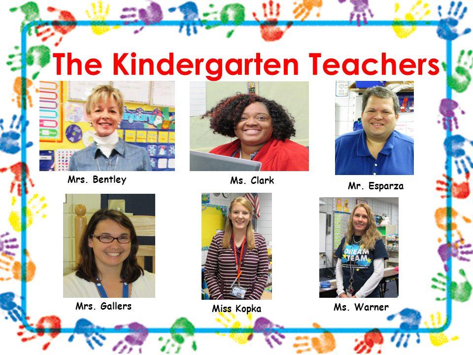 The Kindergarten Teachers