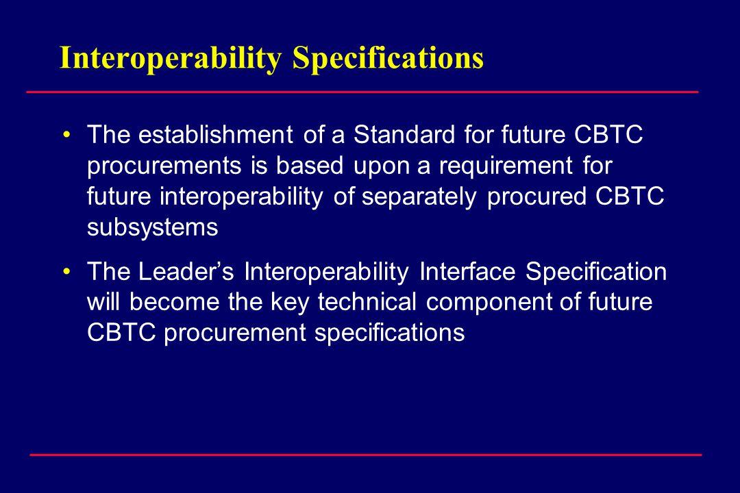 Interoperability Specifications